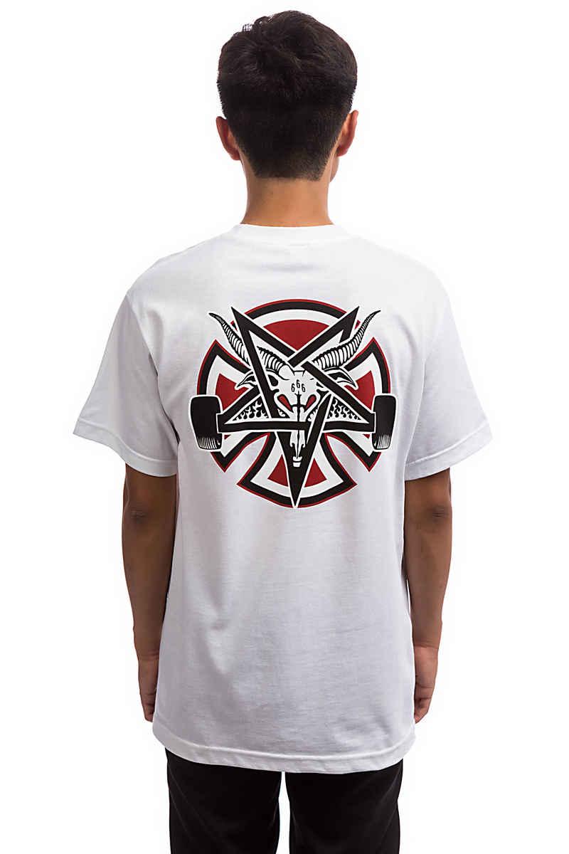 Independent x Thrasher Pentagram Cross T-Shirt (white)