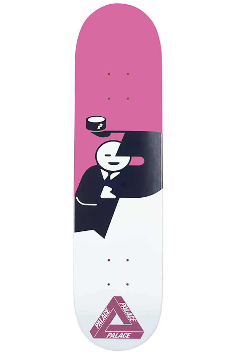 """PALACE SKATEBOARDS Hatman UV 8.125"""" Planche Skate (pink)"""