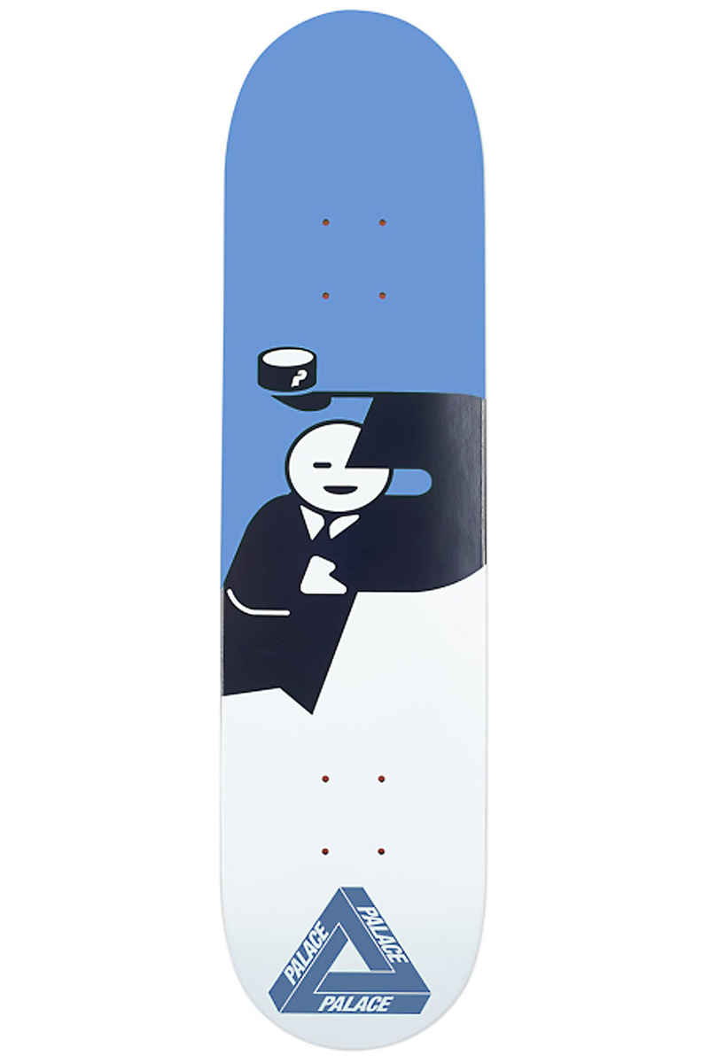 "PALACE SKATEBOARDS Hatman UV 8.375"" Deck (blue)"
