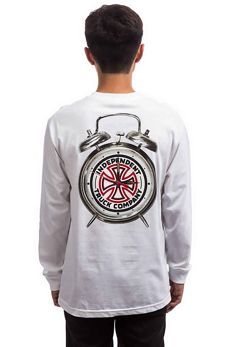 Independent x Thrasher Time To Grind Longsleeve (white)