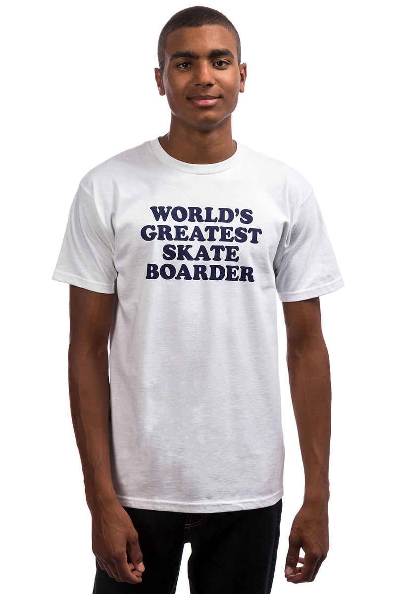 Skate Mental Worlds Greatest Skateboarder T-Shirt (white)