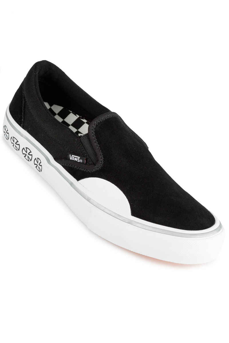 Vans x Independent Slip-On Pro Shoes (black white)