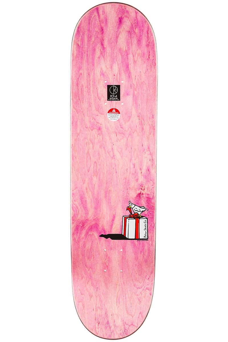 "Polar Skateboards Grund Present 8.5"" Deck (multi)"
