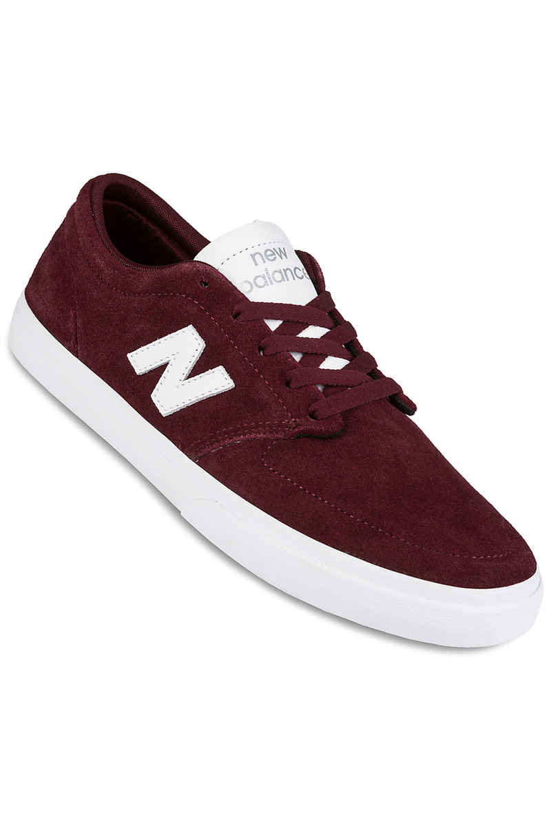 New Balance Numeric 345 Shoes (burgundy)