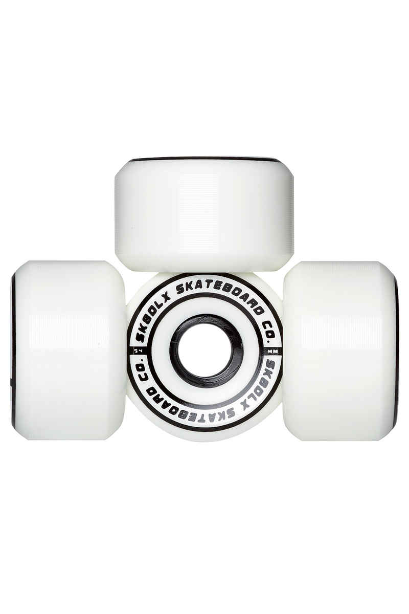SK8DLX Conical Series Roue (white) 54mm 100A 4 Pack