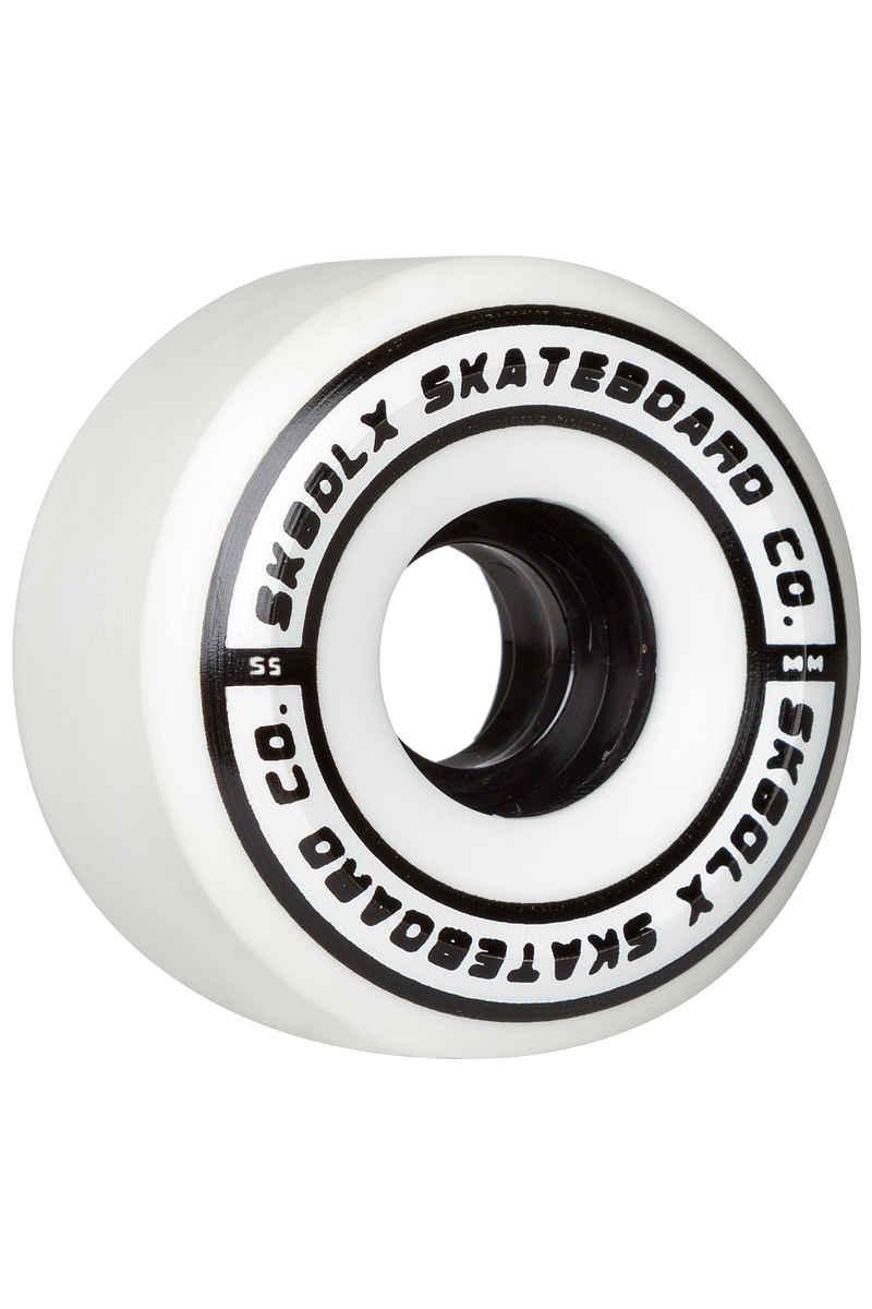 SK8DLX Conical Series Ruote 55mm 100A pacco da 4
