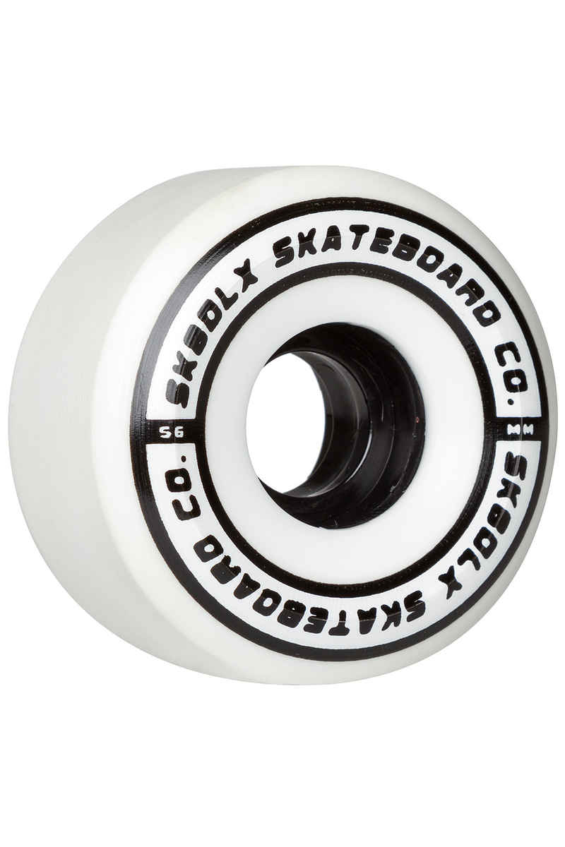 SK8DLX Conical Series Wiel (white) 56mm 100A 4 Pack