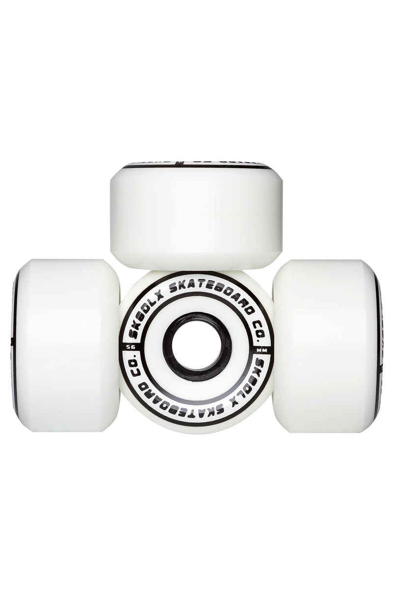 SK8DLX Conical Series Roue (white) 56mm 100A 4 Pack