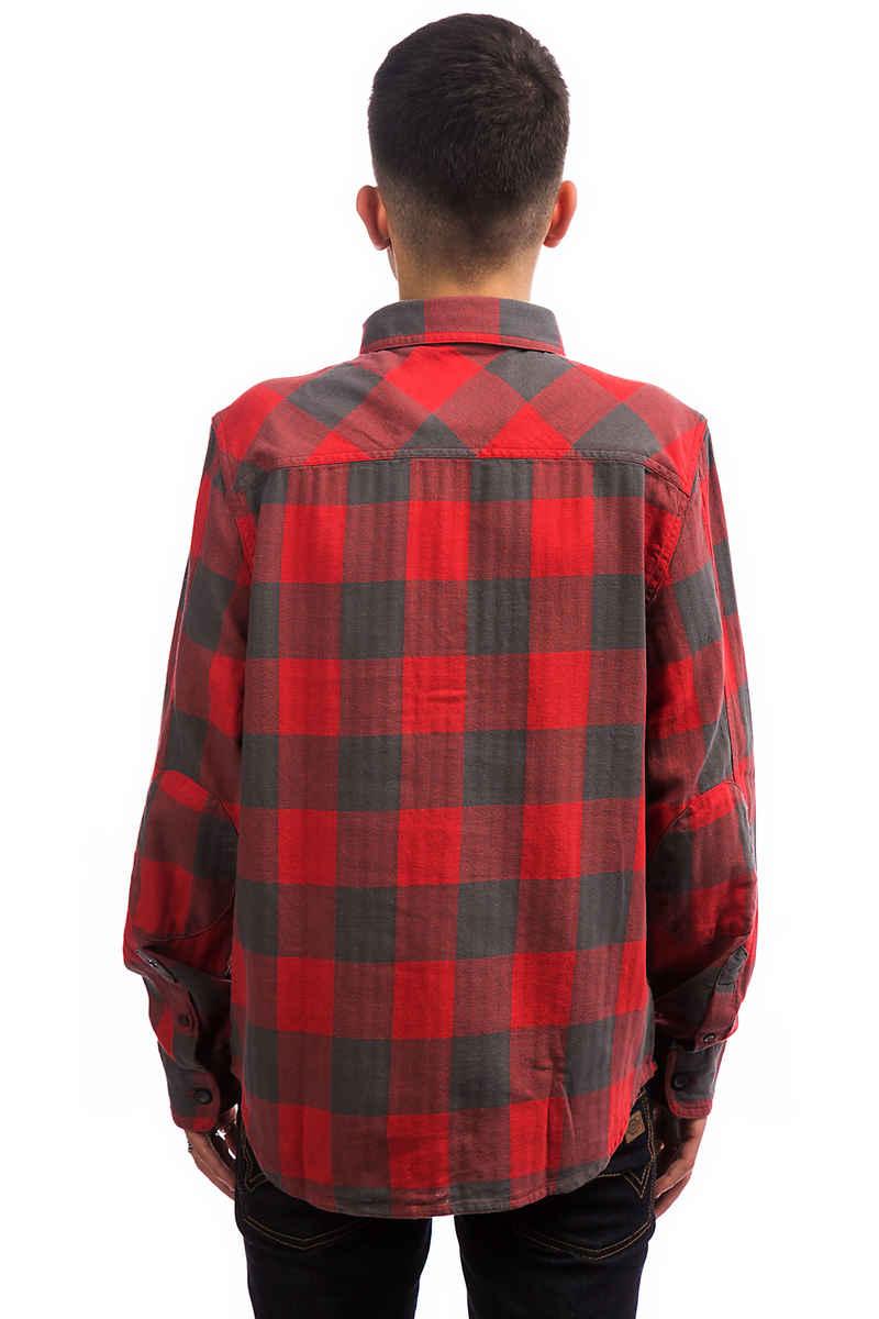 Dickies DMO Check Hemd (red grey)