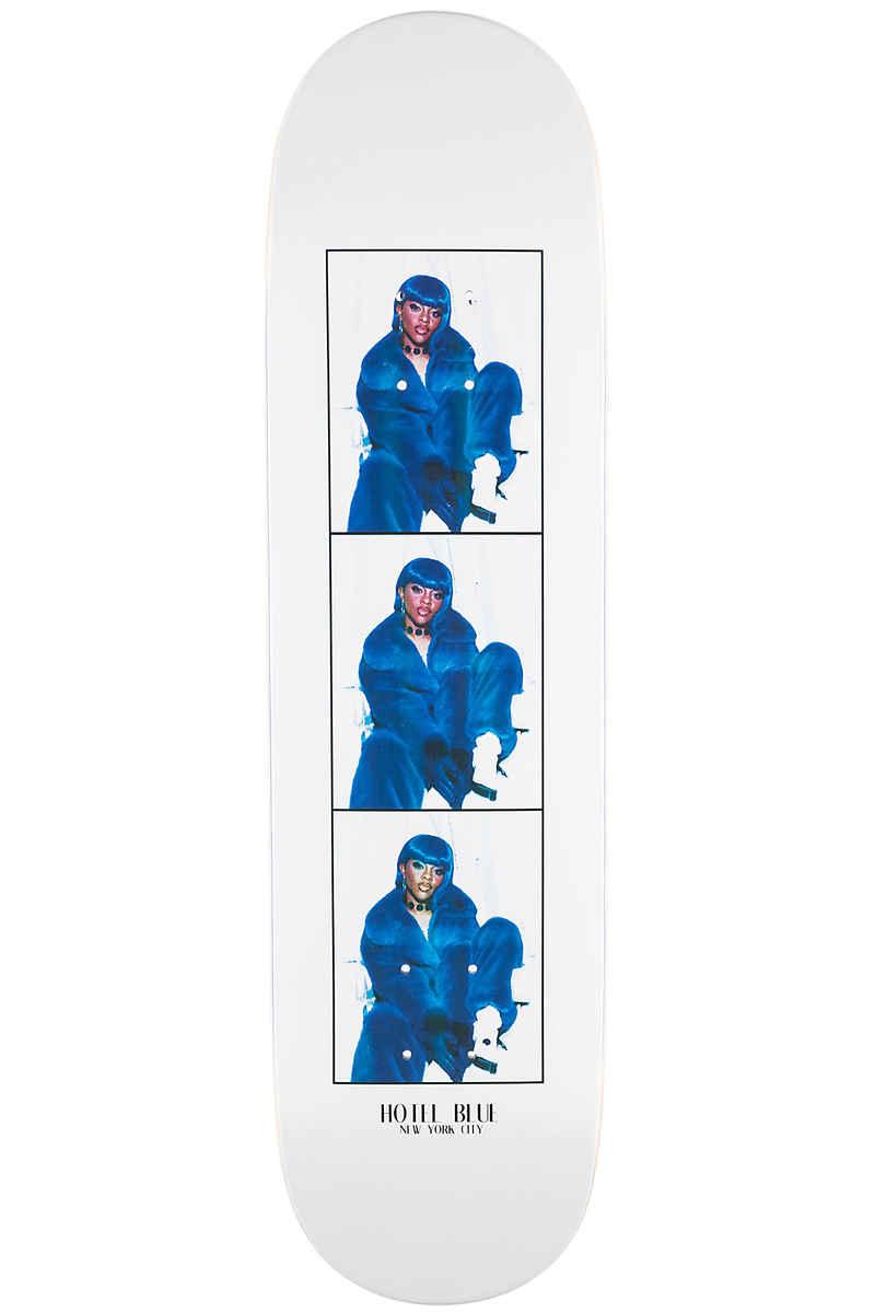 """Hotel Blue Lil Kim 8.25"""" Planche Skate (white)"""