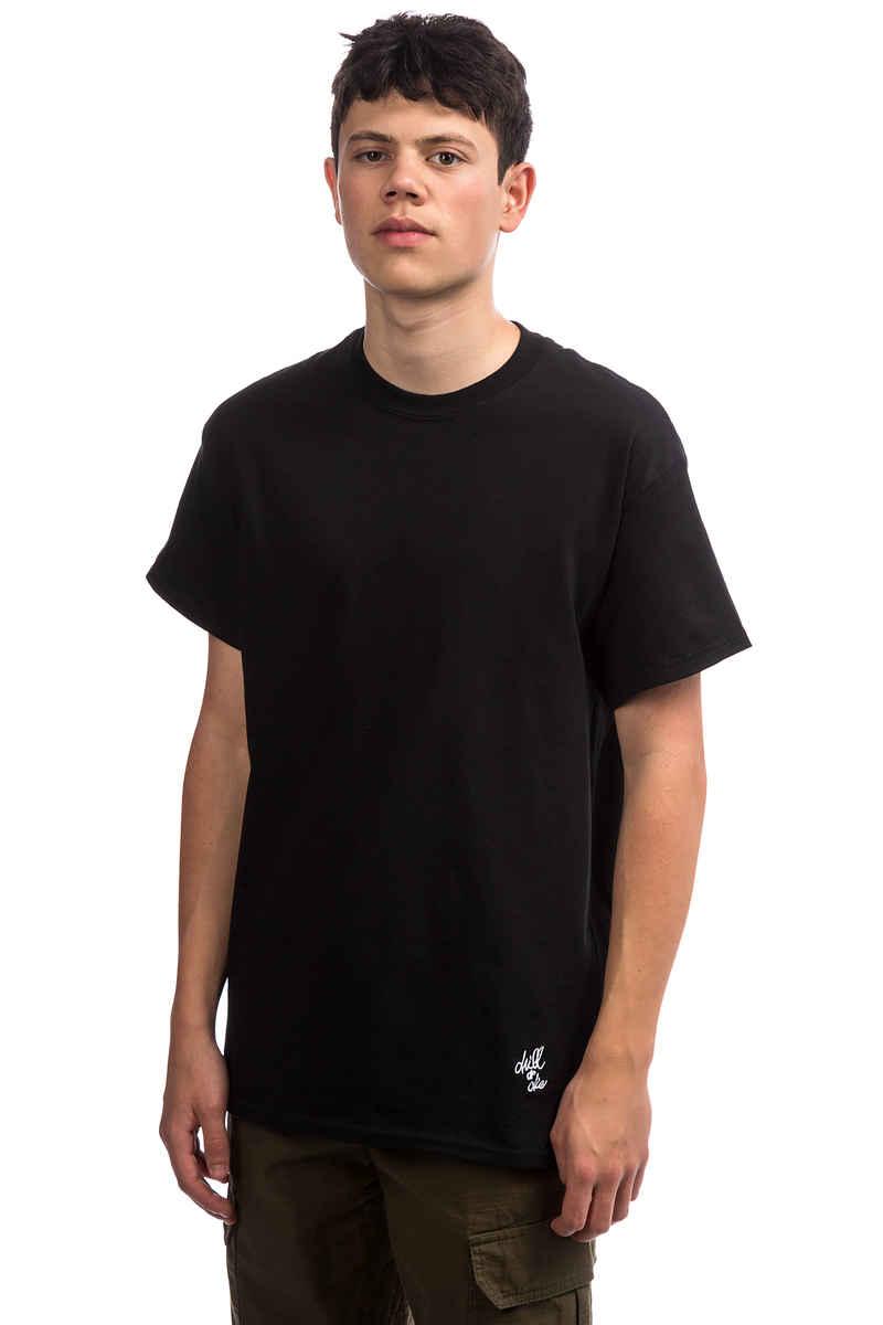 CHILL OR DIE OG Logo Mini T-Shirt (black white)