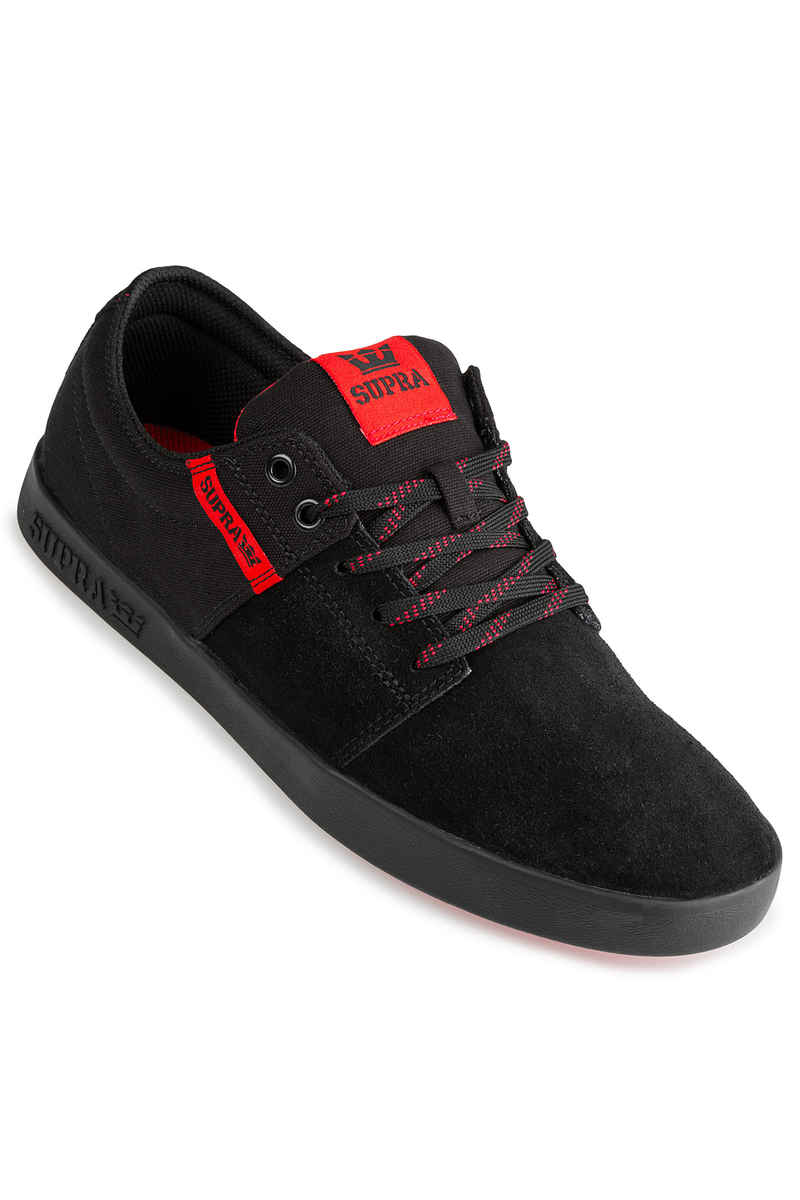 Supra Stacks II Schuh (black risk red)