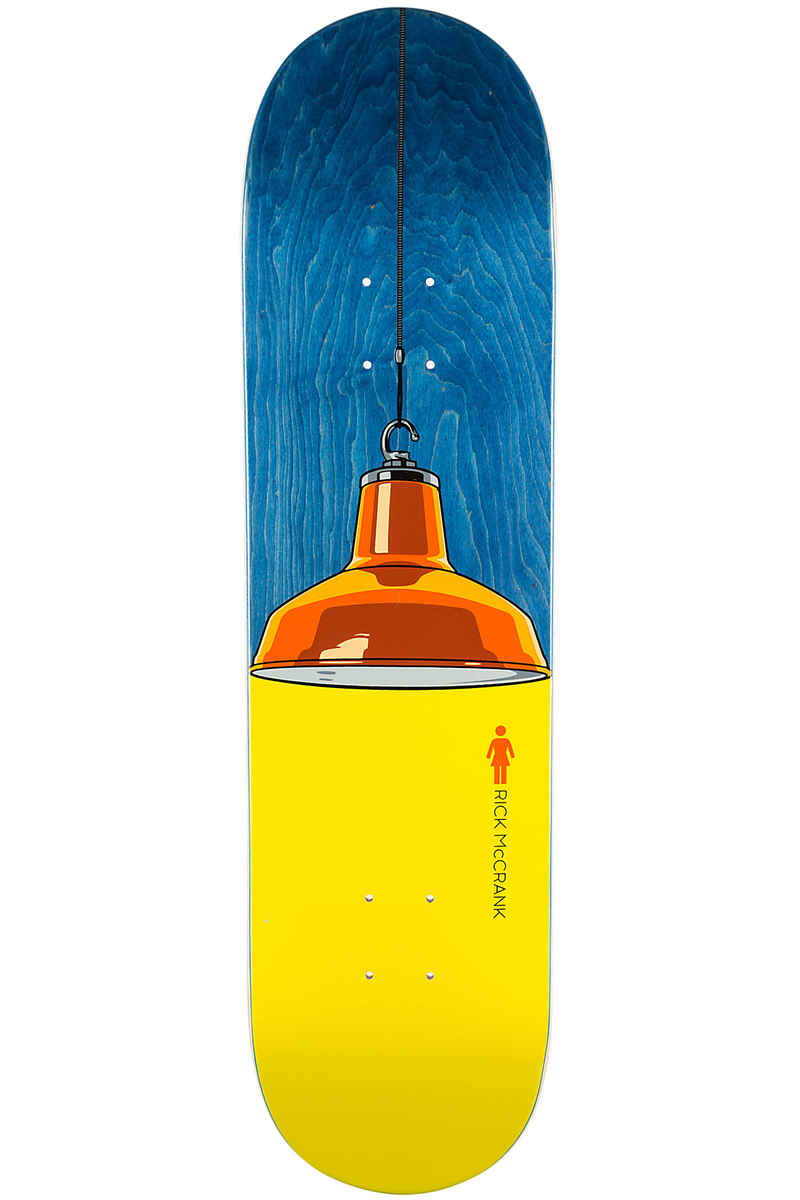 "Girl McCrank Illuminated 8.125"" Deck (multi)"