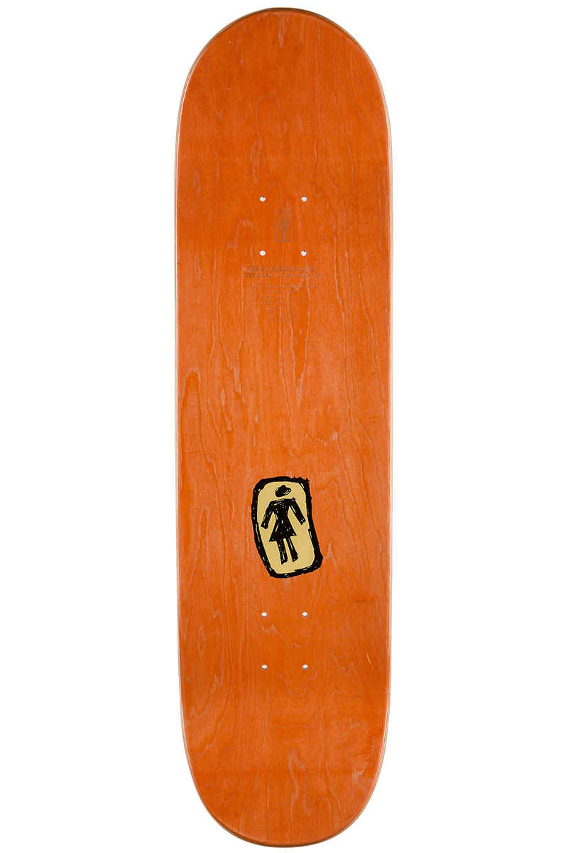 "Girl Howard One Off Drunk Skunk 8.5"" Deck (beige)"
