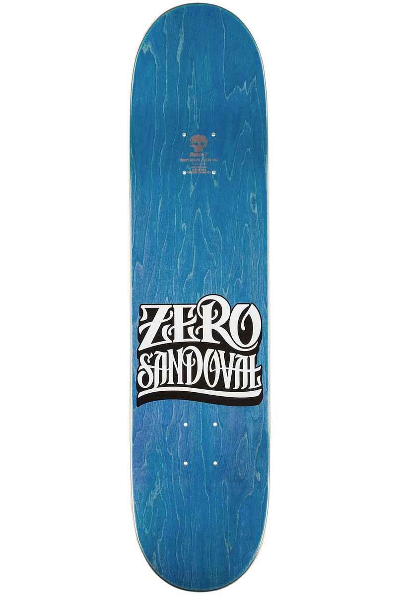 """Zero Sandoval Flashback Reissue 7.75"""" Deck (silver)"""
