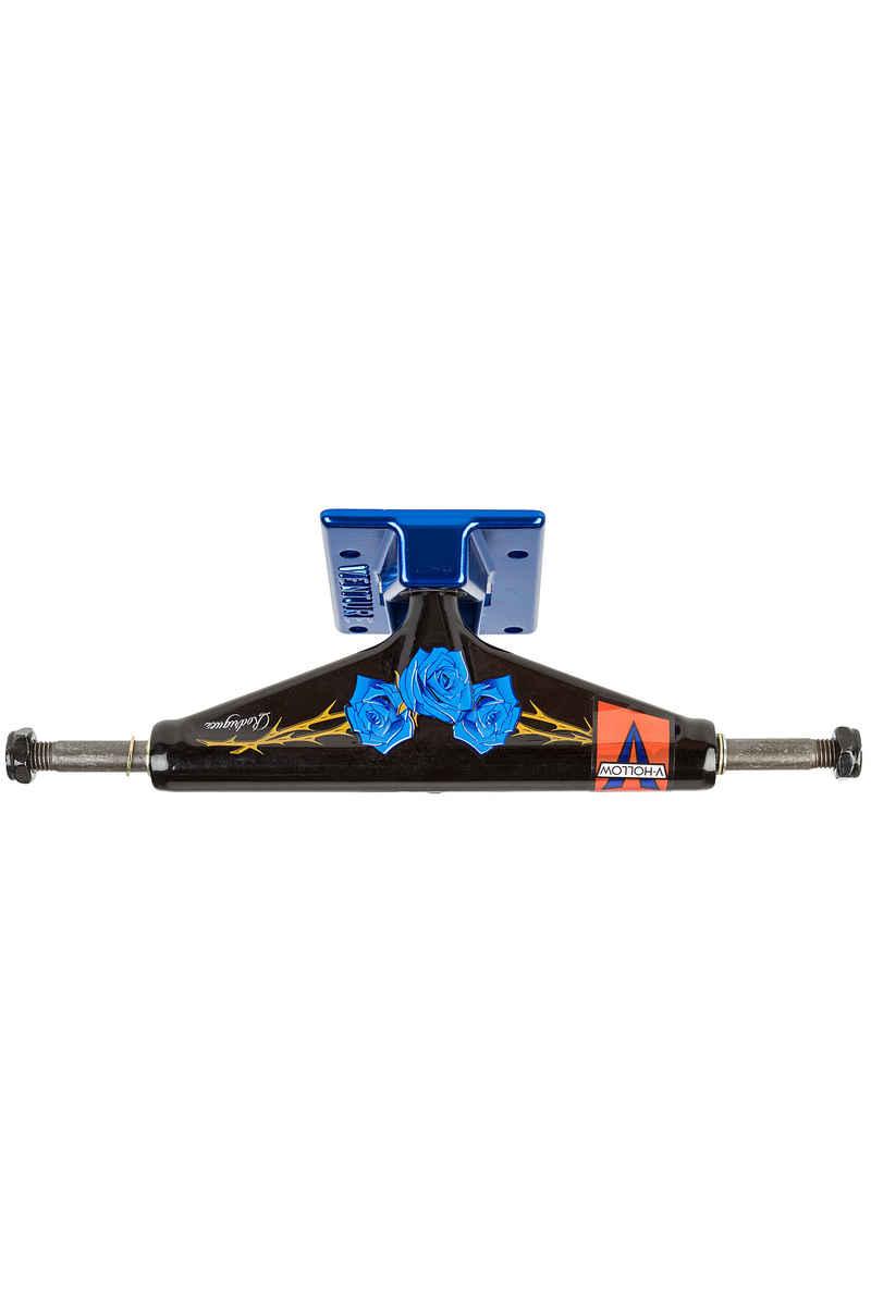 "Venture Trucks V-Hollow Lights Rodriguez Roses High 5.25"" Achse (black blue)"