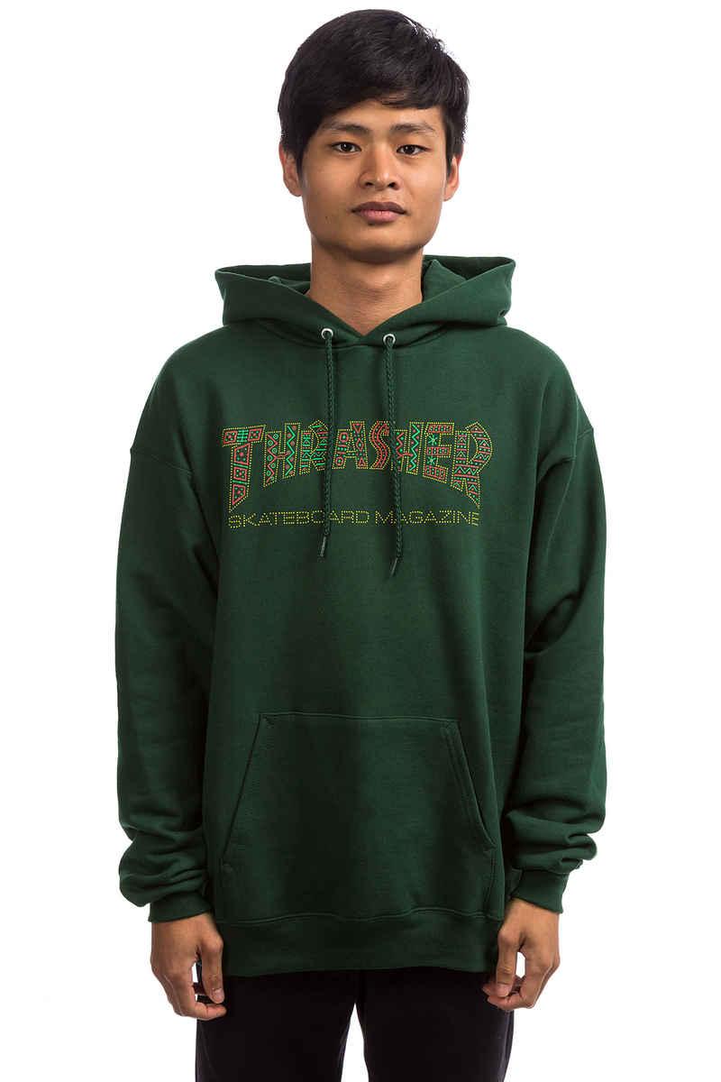 Thrasher Davis Hoodie (forest green)