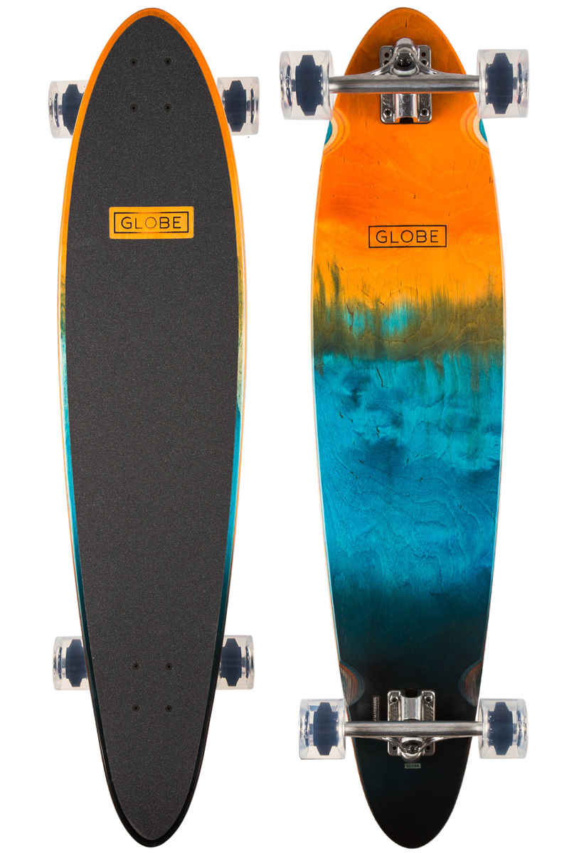 """Globe Pinner Classic 40"""" (101,6cm) Komplett-Longboard (orange fade dye)"""