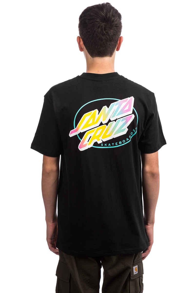Santa Cruz Oval Dot T-Shirt (black)