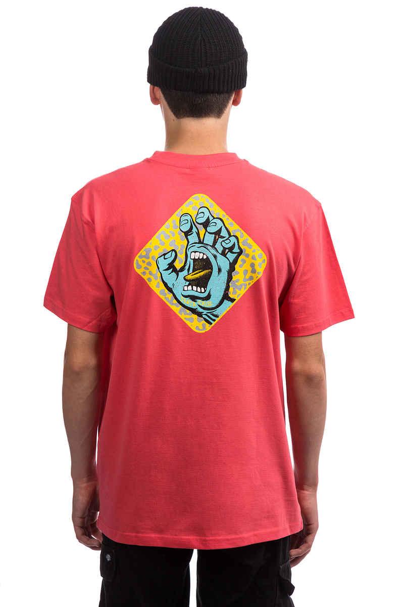Santa Cruz Extinct Hand T-Shirt (flamingo)