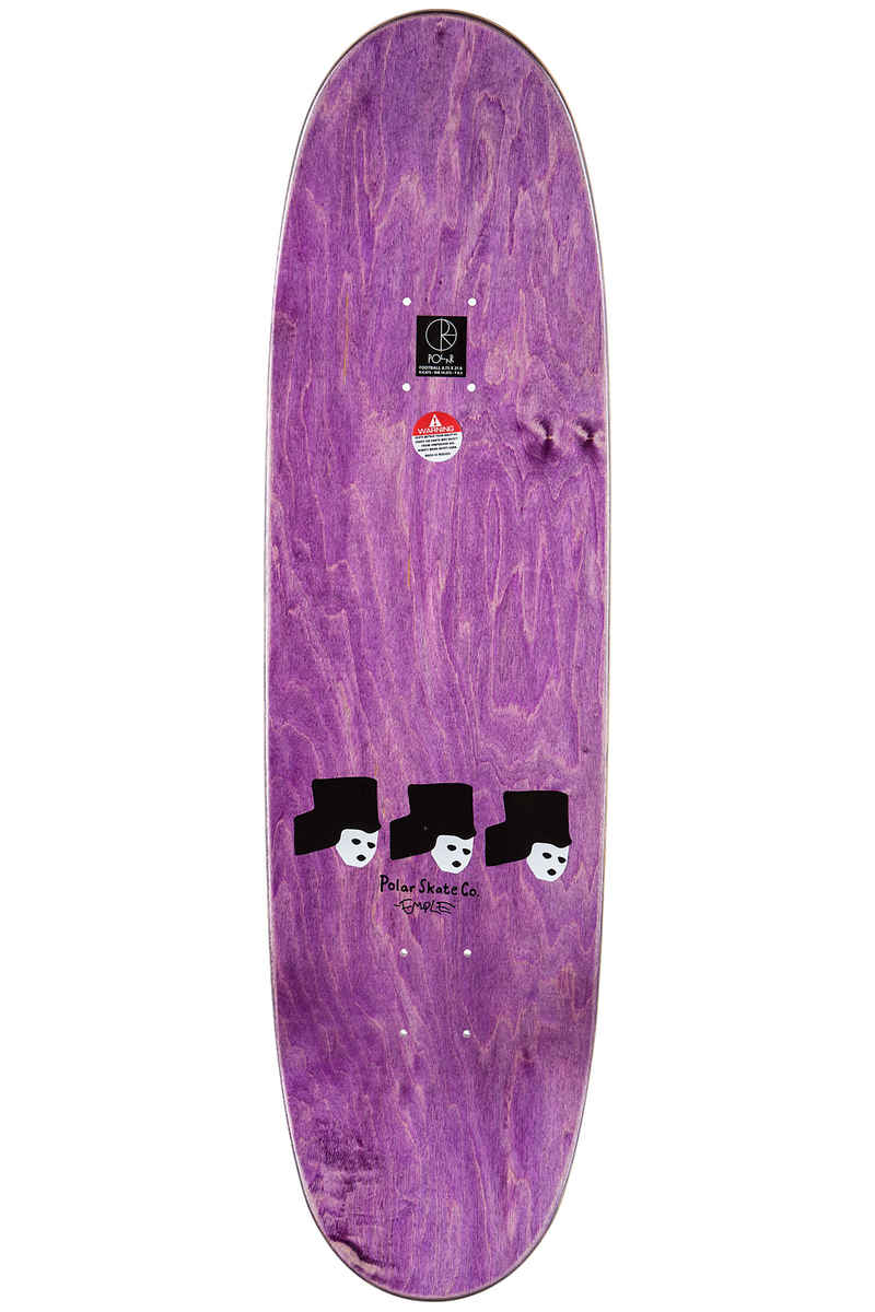 "Polar Skateboards Brady Pizza Oven 8.75"" Deck"