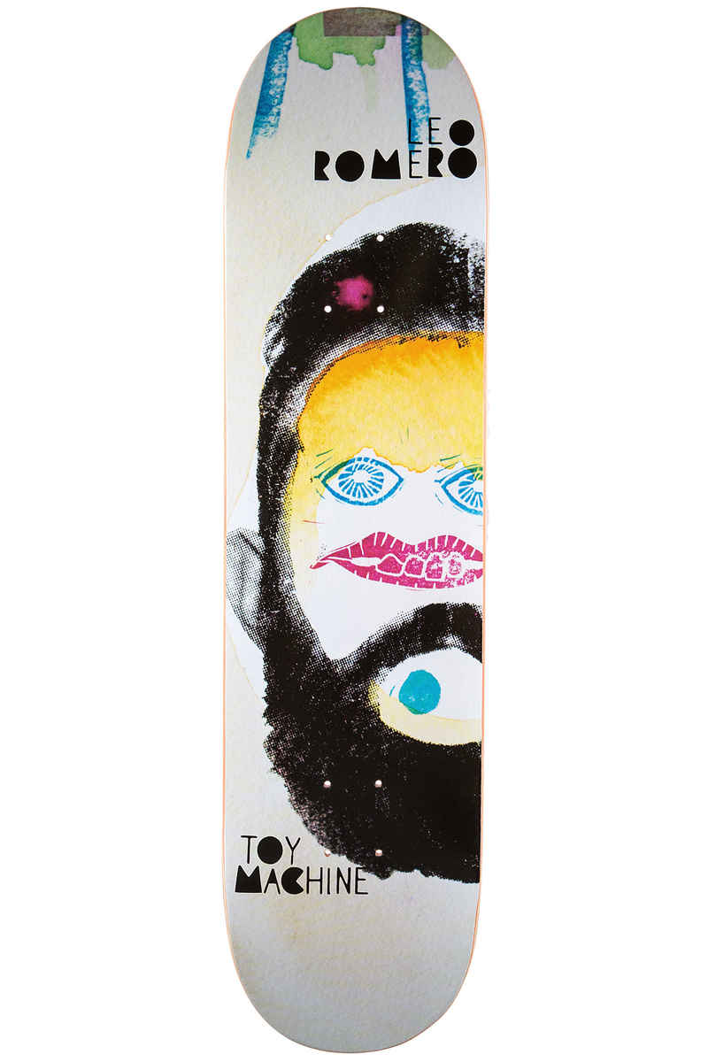 "Toy Machine Romero Abstract 8.25"" Deck (multi)"