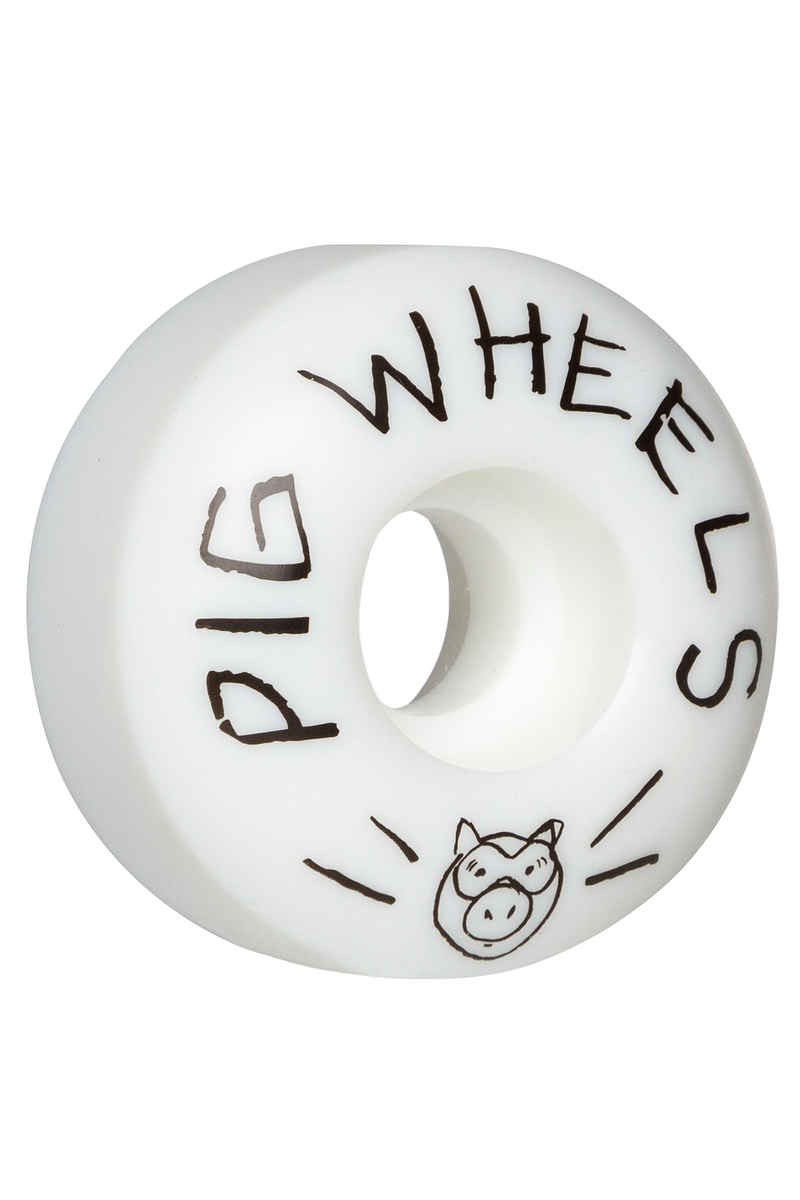 Pig Scribble Rollen (white) 53mm 101A 4er Pack
