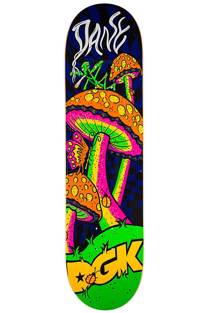 "DGK Skateboards Vaughn Black Light 8.125"" Deck (multi)"