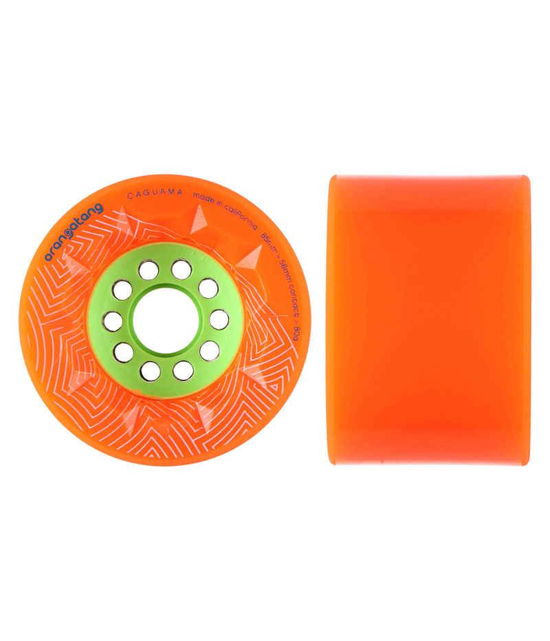 Orangatang Caguama Wheels (orange) >80mm 4 Pack 80A