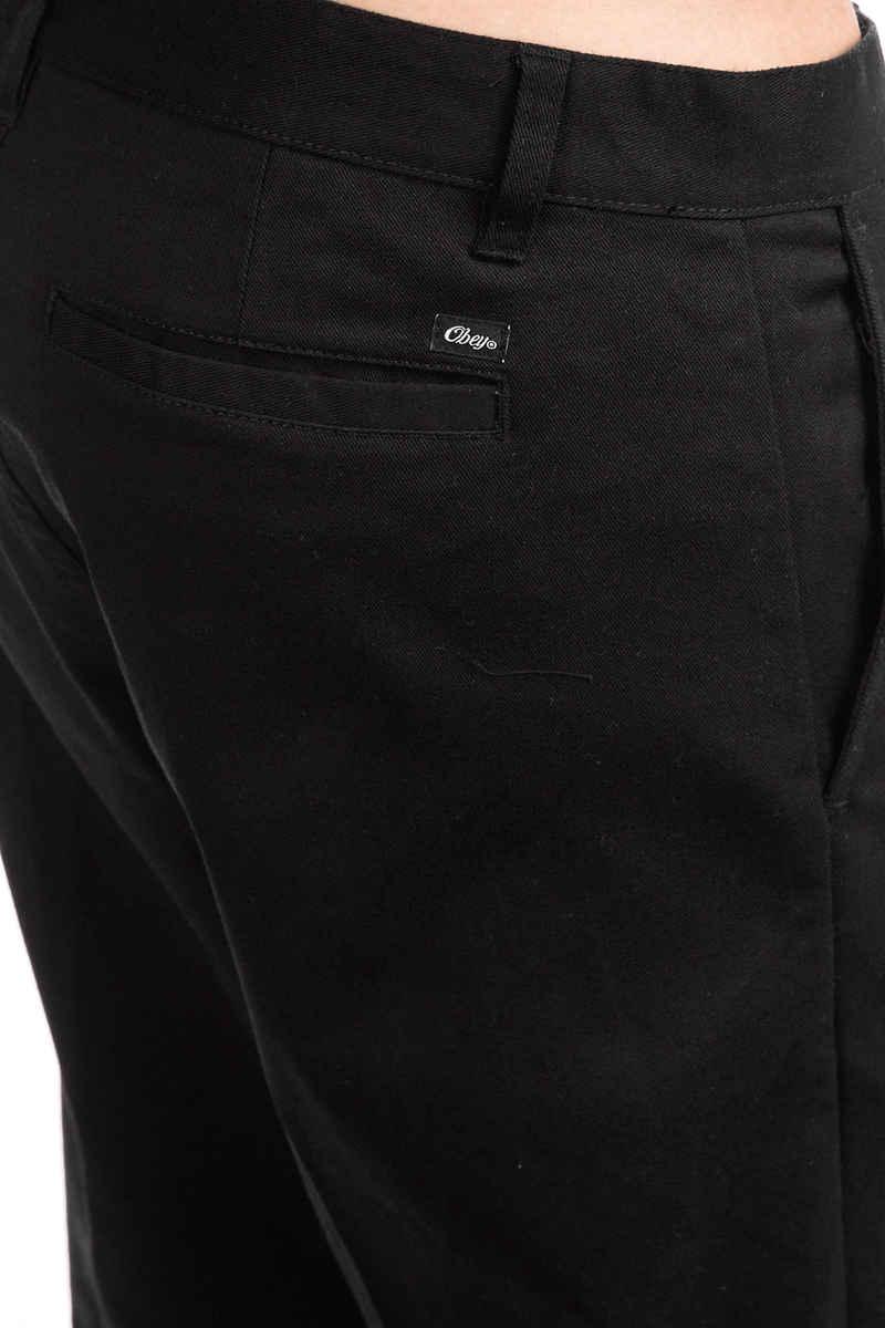 Obey Straggler Flooded Pantalons (black)