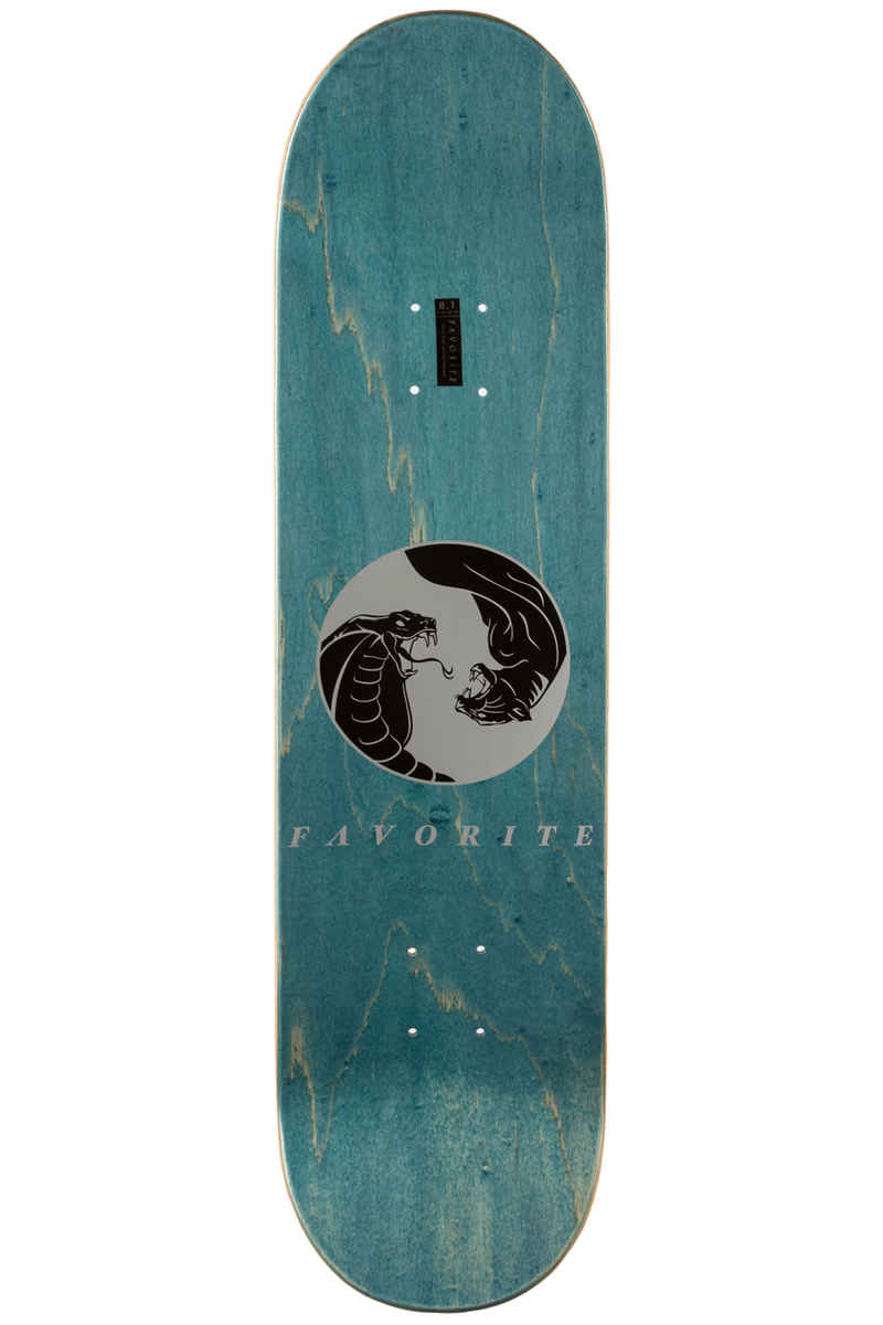 "Favorite Snake 8.125"" Deck (blue silver)"