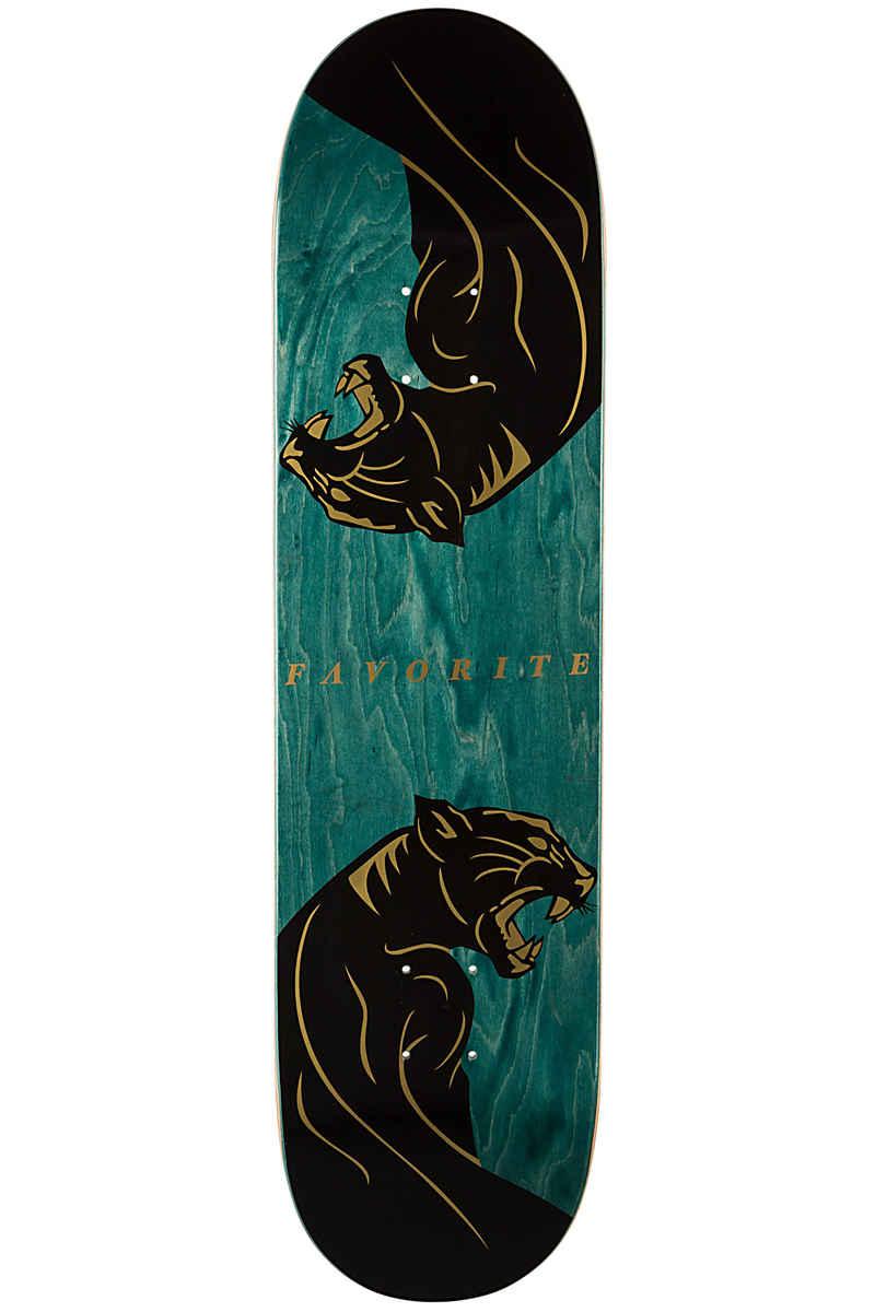 "Favorite Panther 8"" Deck (green gold)"