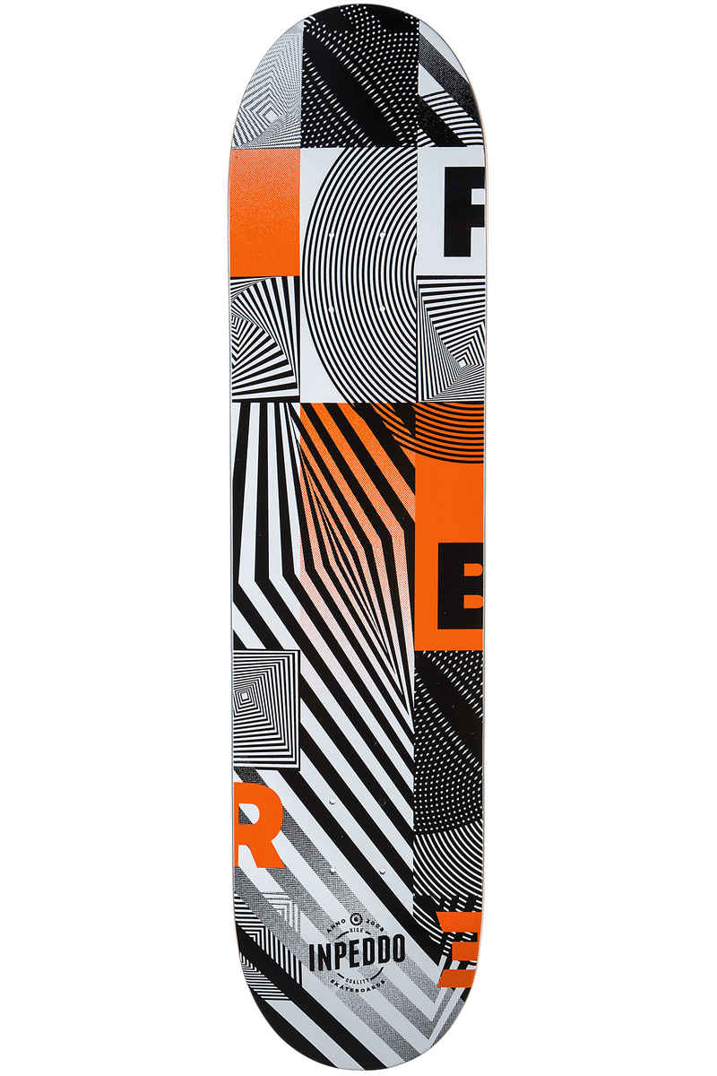 "Inpeddo Fibre Whip 8.25"" Planche Skate (orange)"