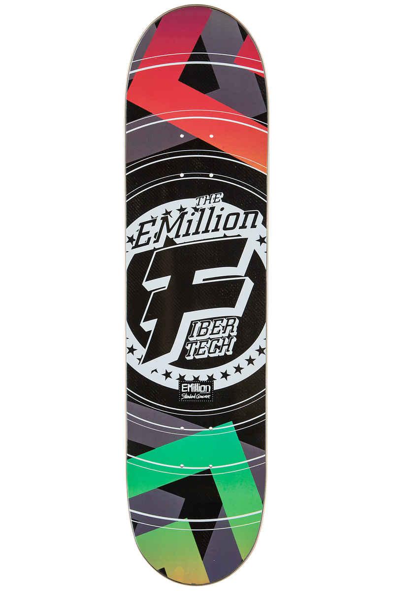 "EMillion Optical Fibertech 7.875"" Planche Skate (multi)"