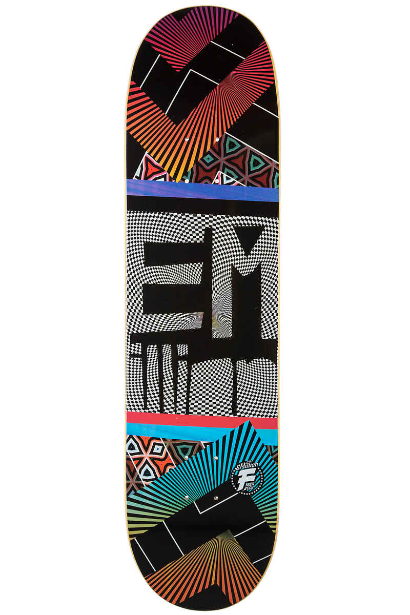 "EMillion Optical Fibertech 8.375"" Planche Skate (multi)"