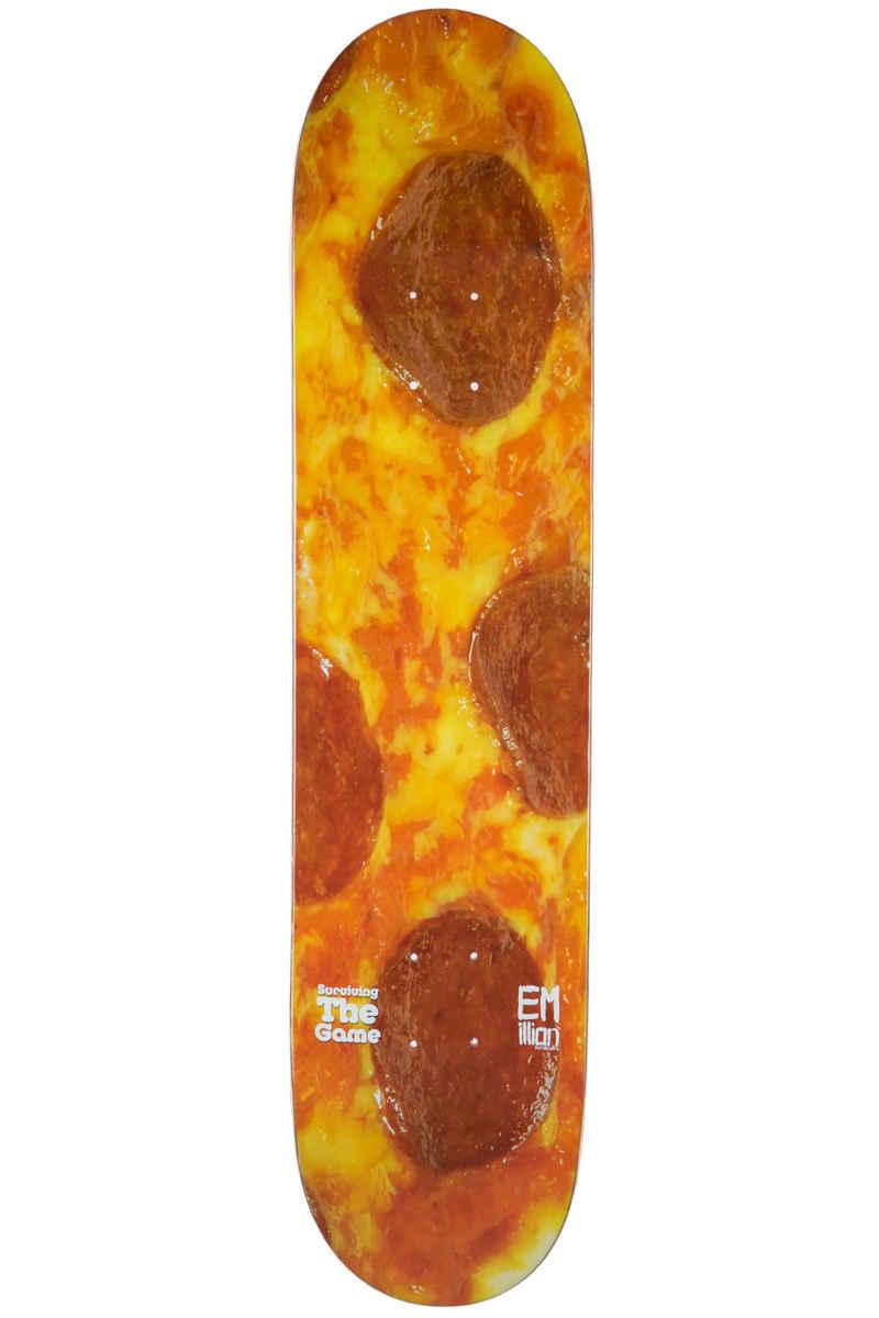 "EMillion Surviving The Game Pizza 8"" Planche Skate (multi)"