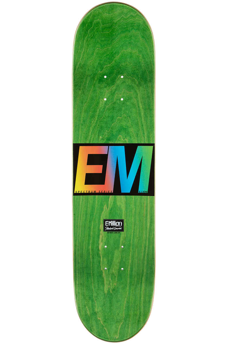 "EMillion Spectrum 8"" Planche Skate (white)"