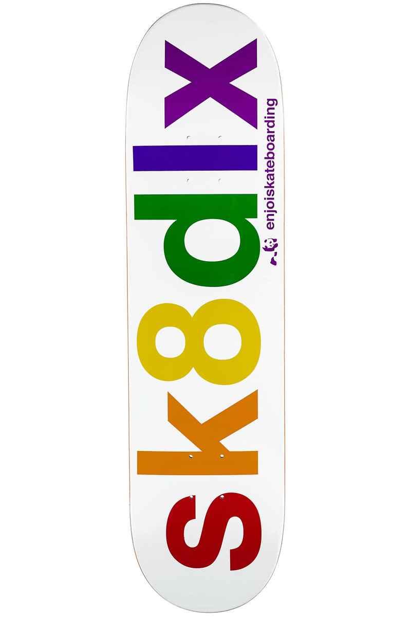 "SK8DLX x Enjoi 8"" Deck (white)"