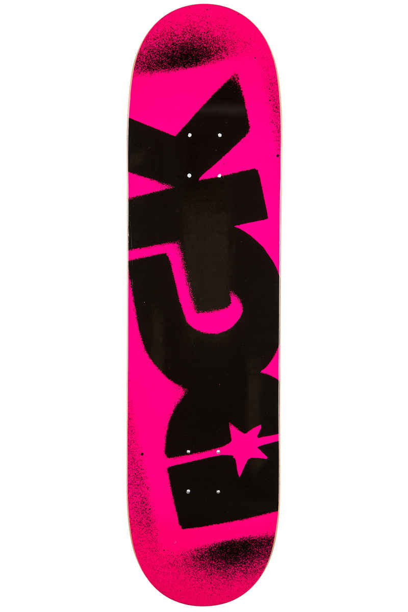 "DGK Skateboards Team Florescent 8.38"" Deck (pink)"