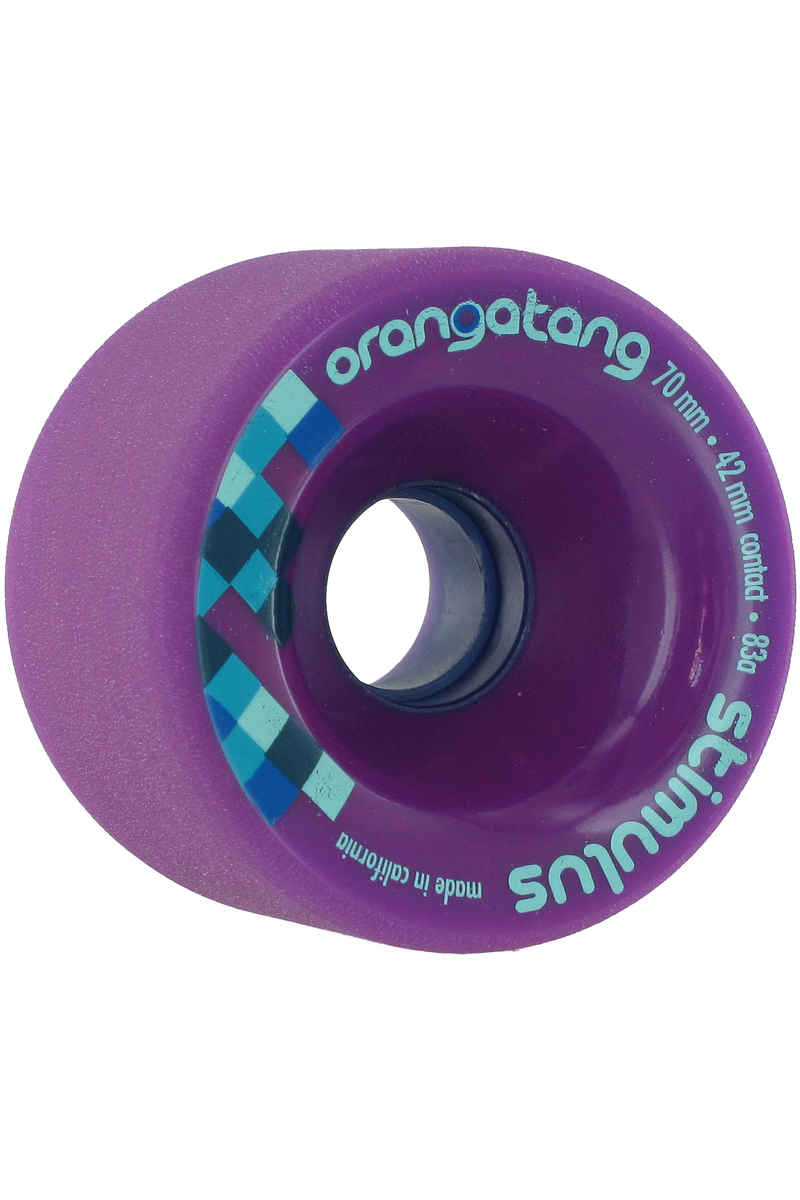 Orangatang Stimulus Rueda (purple) 83A Pack de 4 70mm