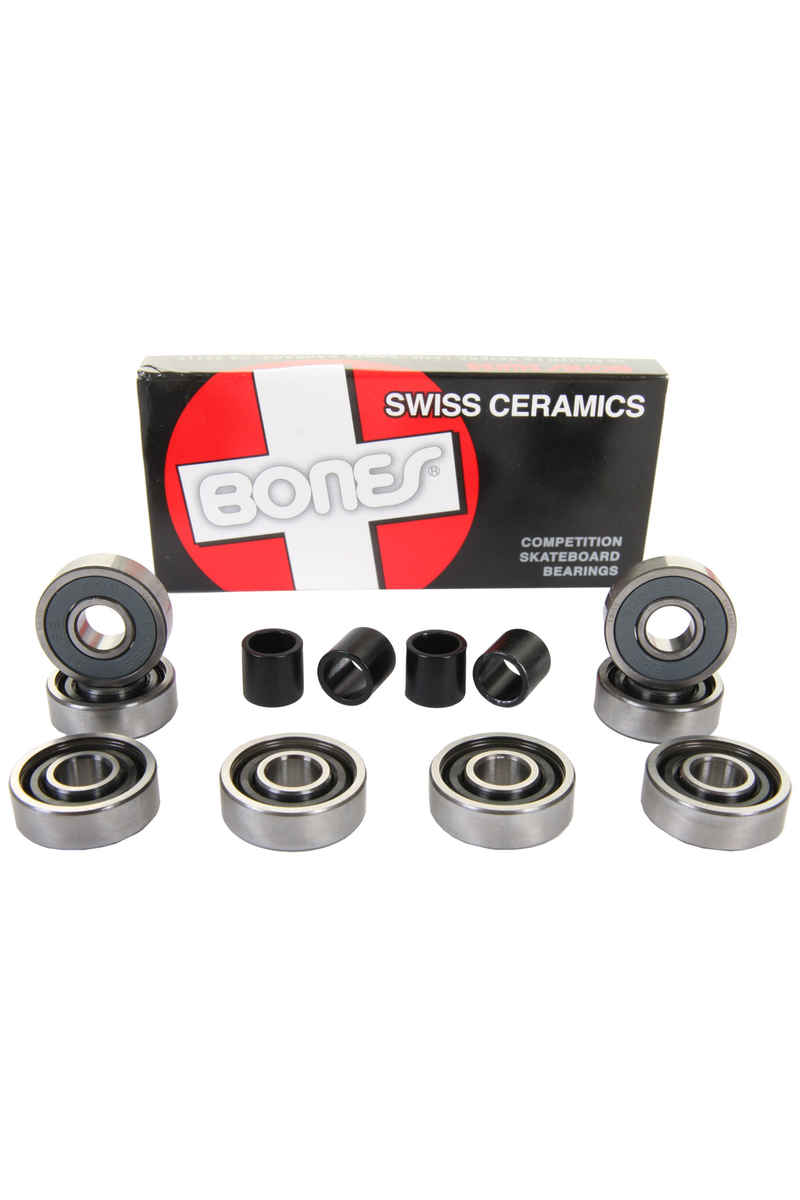 Bones Bearings Swiss Ceramics Kogellagers (black)