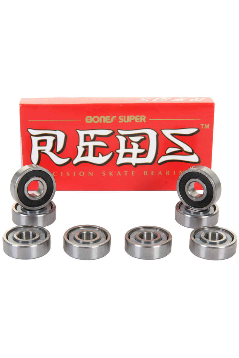 Bones Bearings Super Reds Kogellagers (black)