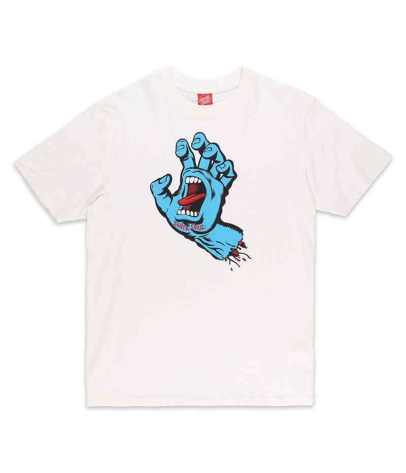 Santa Cruz Screaming Hand T-Shirt (white)