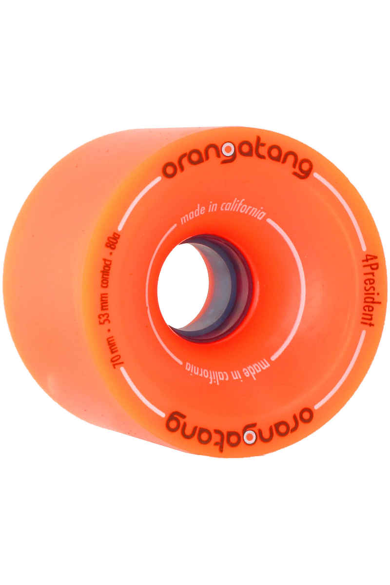 Orangatang 4President 70mm 80A Wheels (orange) 4 Pack
