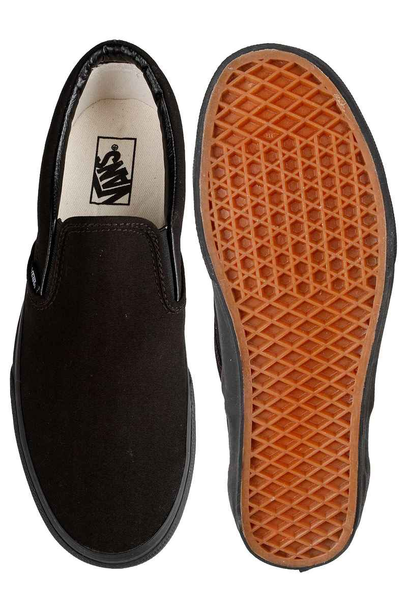 Vans Classic Slip-On Shoes (black black)