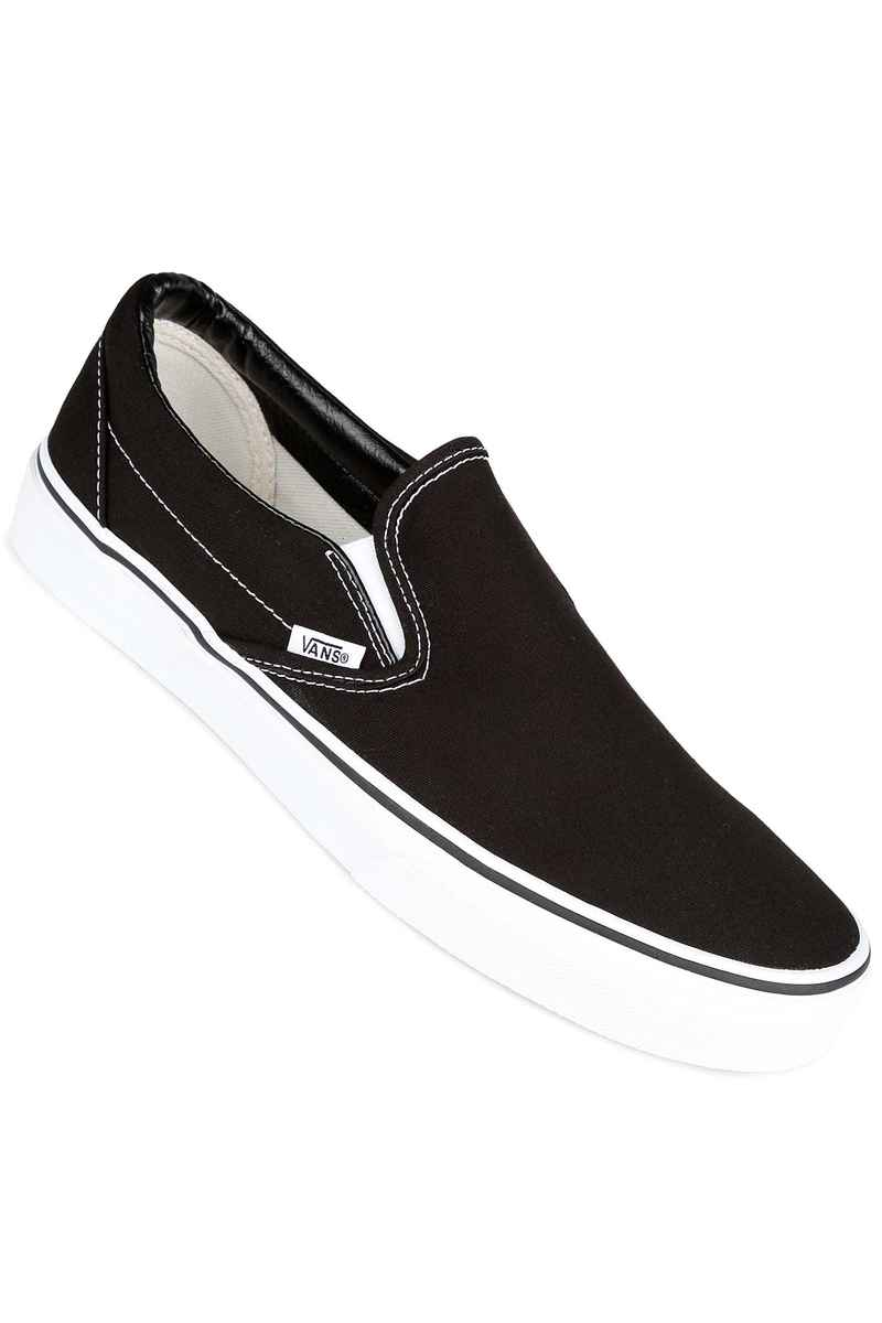 vans classic slip on chaussure black achetez sur skatedeluxe. Black Bedroom Furniture Sets. Home Design Ideas