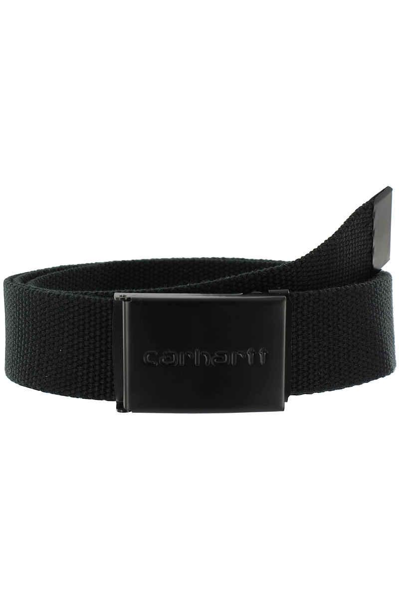 Carhartt WIP Clip Tonal Black Belt (black)