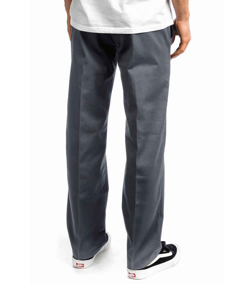Dickies 873 Slim Straight Workpant Hose  (charcoal grey)
