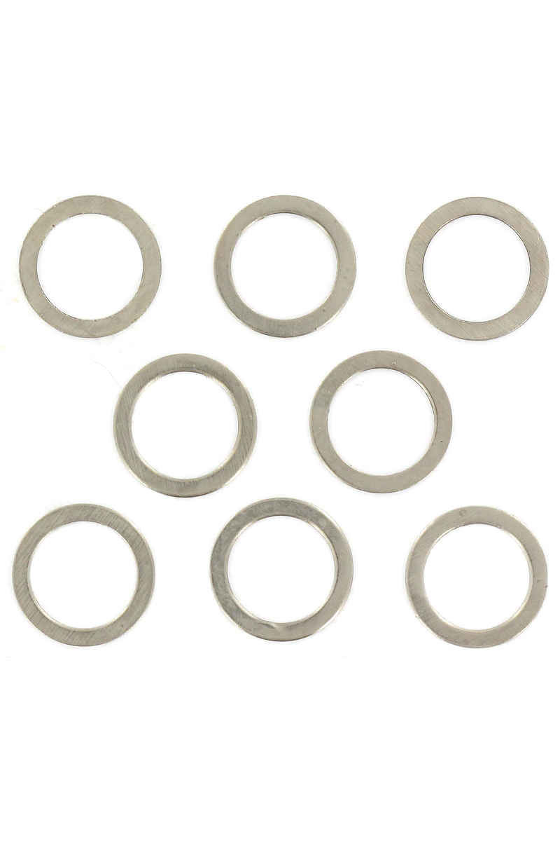 Shortys Standard 8mm Speedrings (silver) 8 Pack