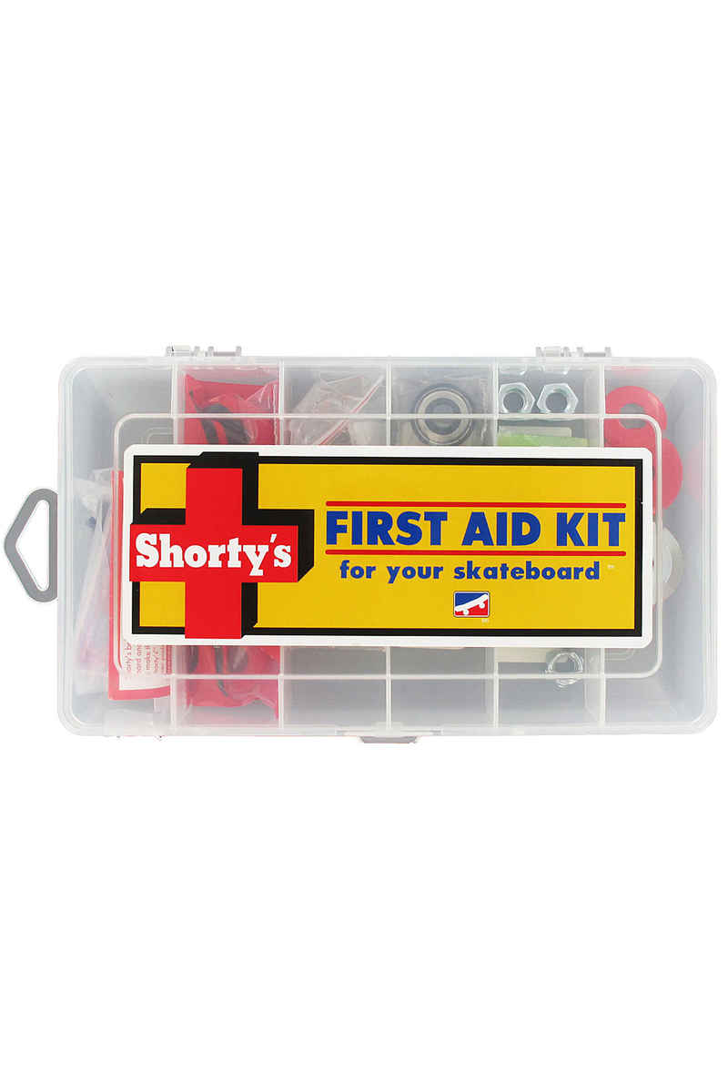 Shortys First Aid Kit Set de vis Flathead (tête fraisée) cross slot